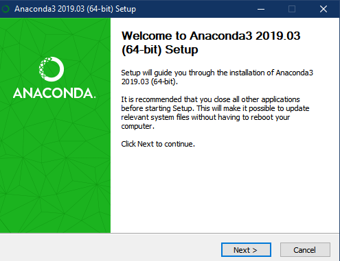 How to Download and Setup TensorFlow with Anaconda