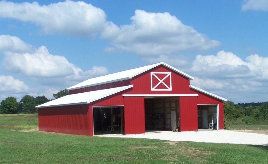 Tôn lạnh một lớp phù hợp để lợp mái trang trại