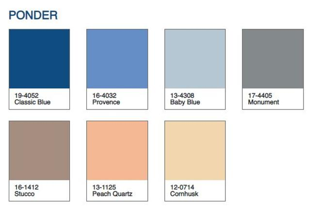Classic Blue colores Pantone