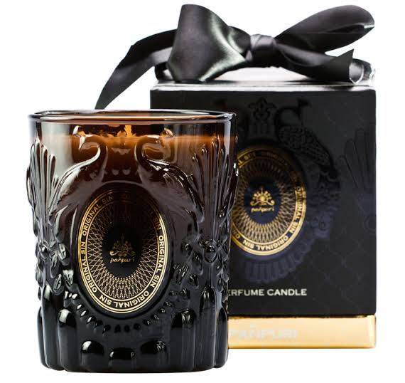 3. Punpuri Femme Fatale Perfume Candle