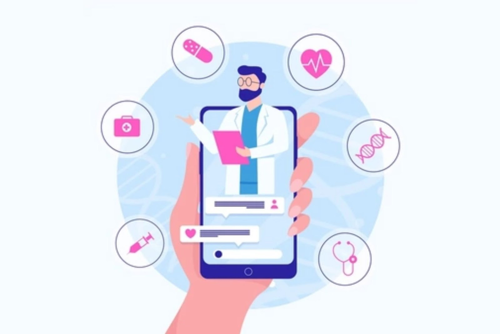 Healthcare mobile app features