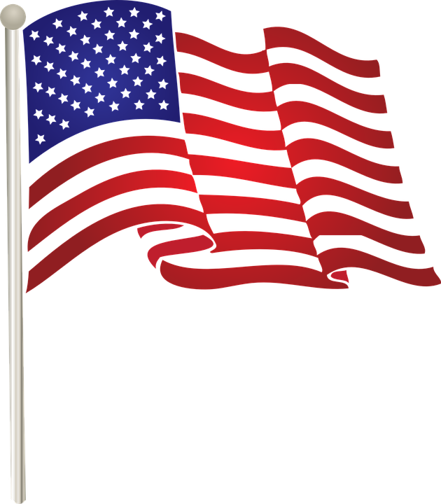 US Flag for Memorial Day