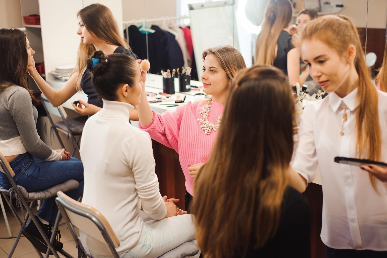 how to get customers in the door makeup classes