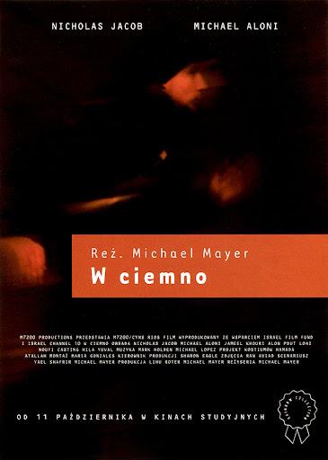 Przód ulotki filmu 'W Ciemno'