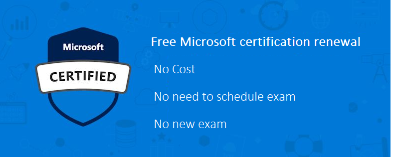Renew your Microsoft Certification