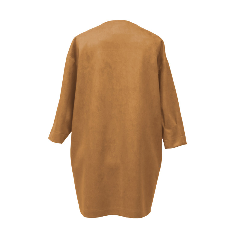 کت زنانه درس ایگو کد 1080006 رنگ کاراملی
