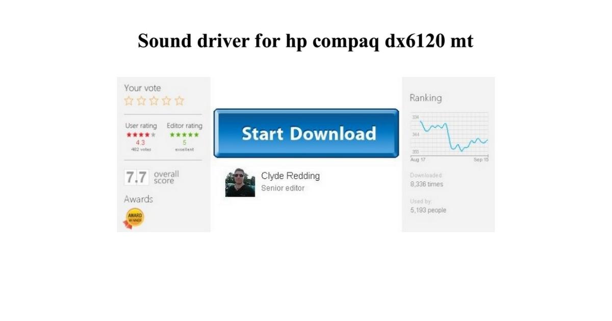 Hp compaq d530 cmt drivers download.