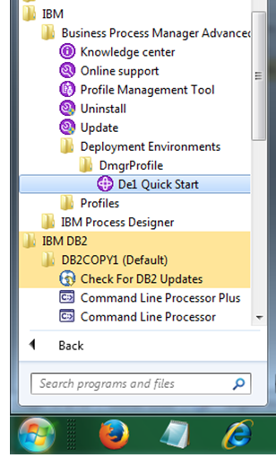 my experiments with IBM BPM: August 2015