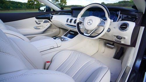 White Mercedes Benz Interior Design Leasing Vs Buying