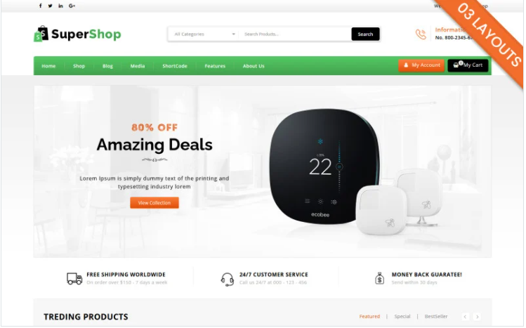top rated Woocommerce themes
