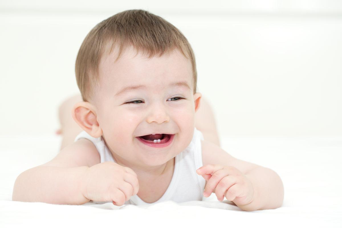 Đánh răng cho con bạn từ khi chúng xuất hiện
