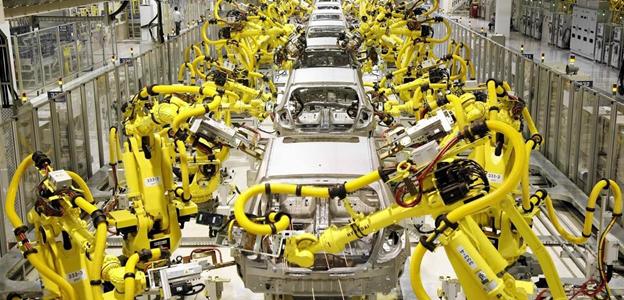 Máy móc công nghiệp trục sống của hoạt động dây chuyền