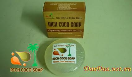 XÀ BÔNG DỪA - RICH COCO SOAP