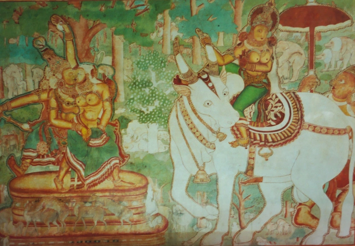 Mural art at Mattancherry Palace in Kerala