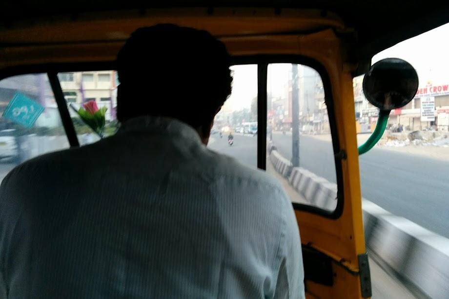 Auto ride to Tarnaka