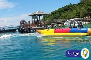 قایق موز سواری در پاتایا