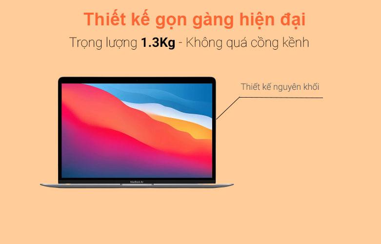 "Laptop MacBook Air 2020 13.3"" MGN73SA/A | Thiết kế gọn hiện đại"