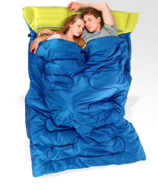 túi ngủ đôi mùa đông