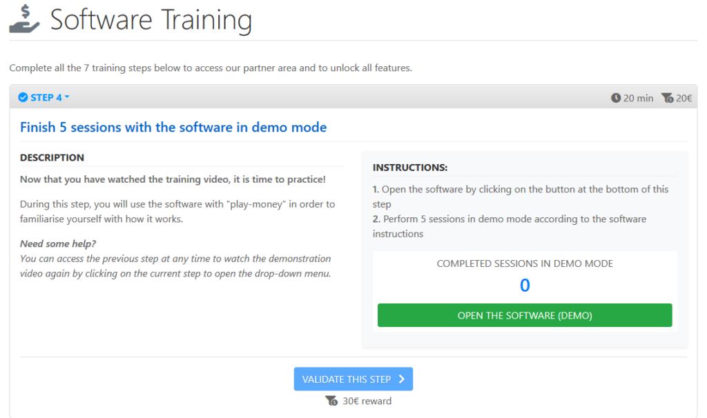 sourcecash.net schritt für schritt anleitung - demo modus