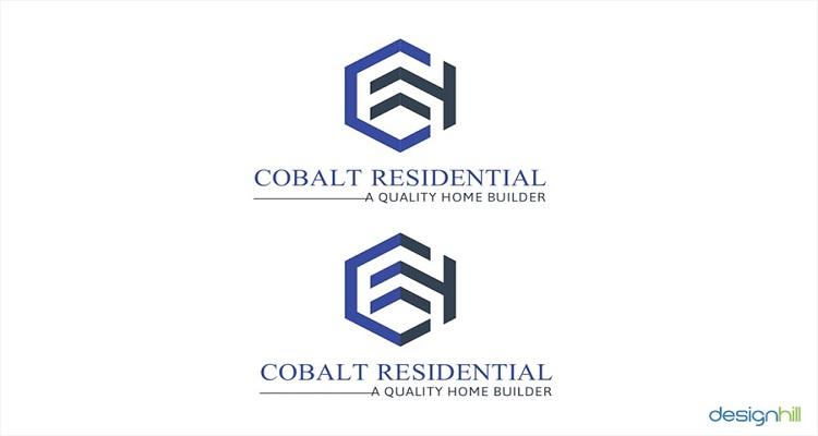 real estate logos cobalt