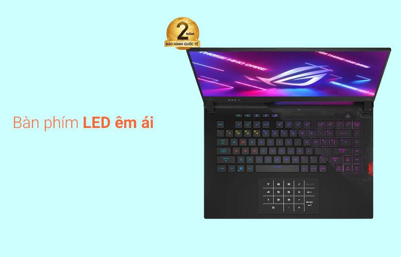 Laptop Asus ROG Strix Scar 15 G533QM-HF089T | Bàn phím LED êm ái