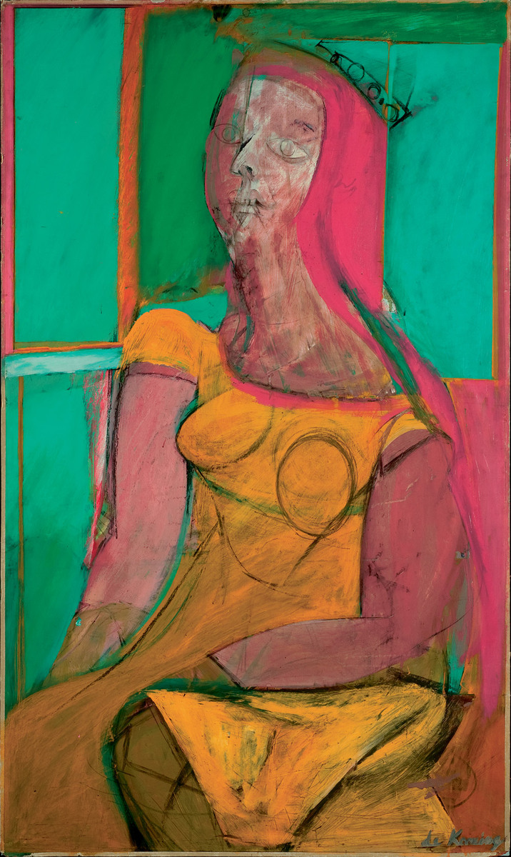 Queen of Hearts, Willem de Kooning