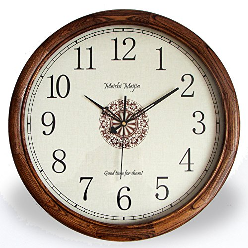 Continental Wooden Wall Clock