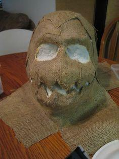 (2) Scarecrow mask help | Halloween Forum