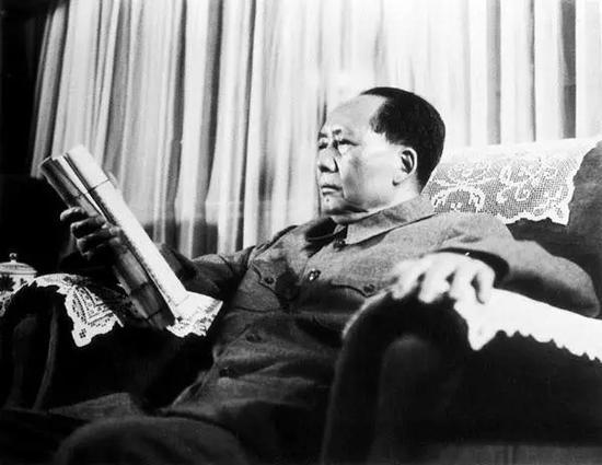毛澤東閱讀古籍