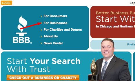 chicago bbb homepage