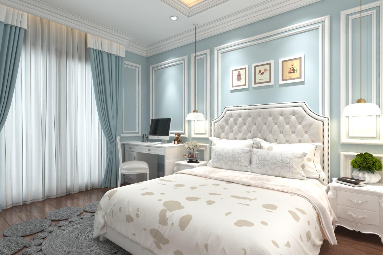 Thiết kế nội thất khách sạn theo phong cách tân cổ điển