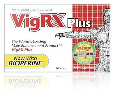 Amazon.com: VigRX Plus Male Virility Herbal Dietary Supplement Pill - 60  Tablets: Health & Personal Care