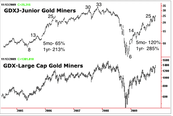 How much can gdx gdxj gain in 2014 the daily gold