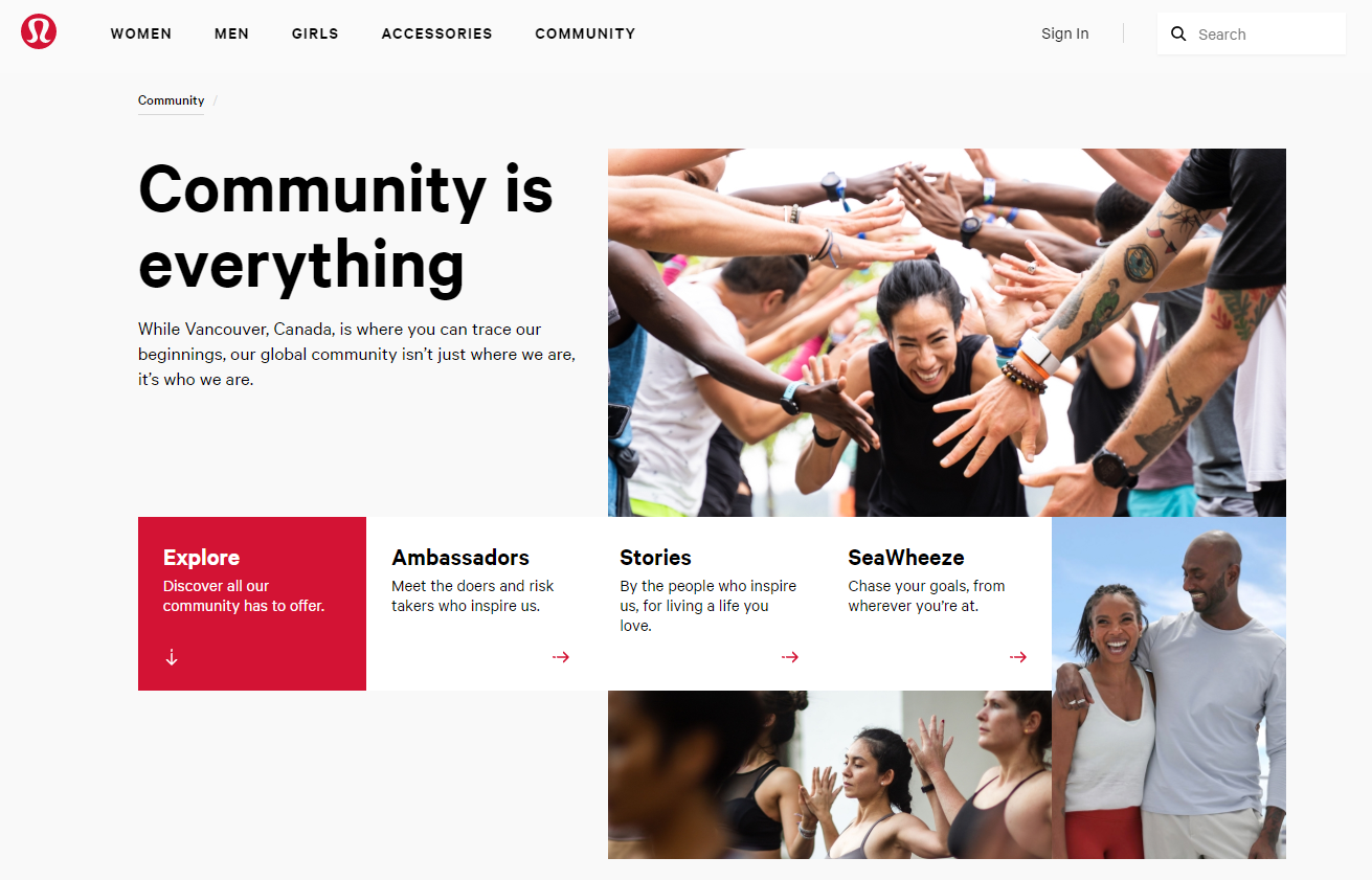 Build a community around your brand