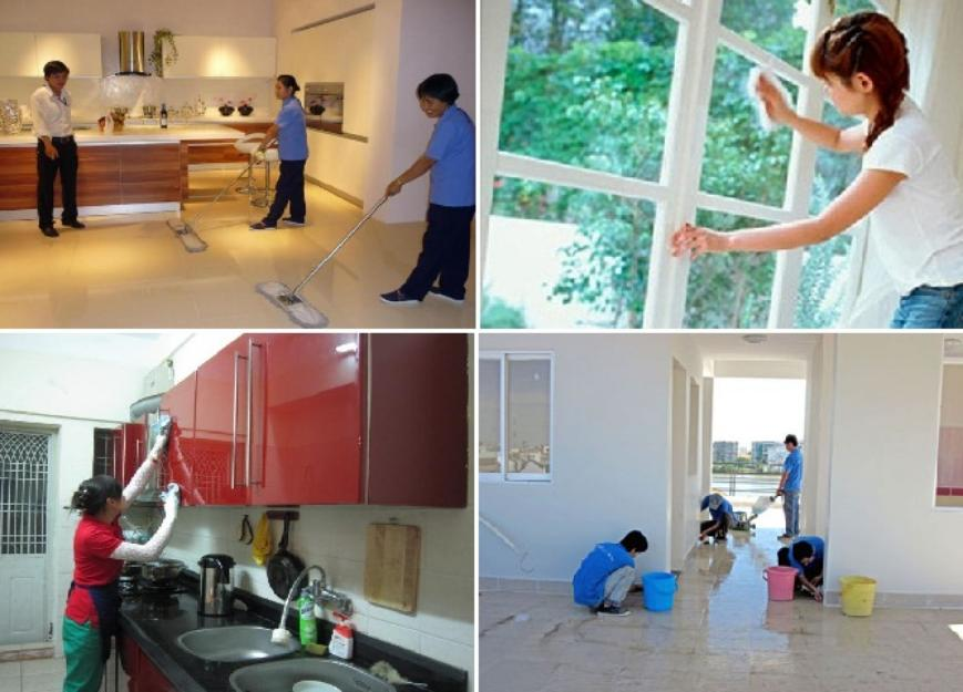 Trải nghiệm dịch vụ vệ sinh nhà ở toàn diện