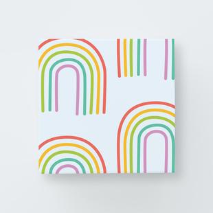Image of Rainbow Party Print