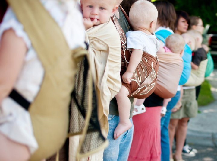 first baby carriers