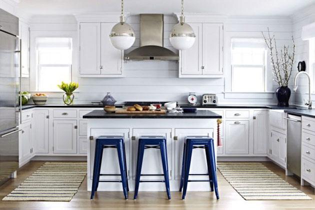 ánh sáng nội thất phòng bếp