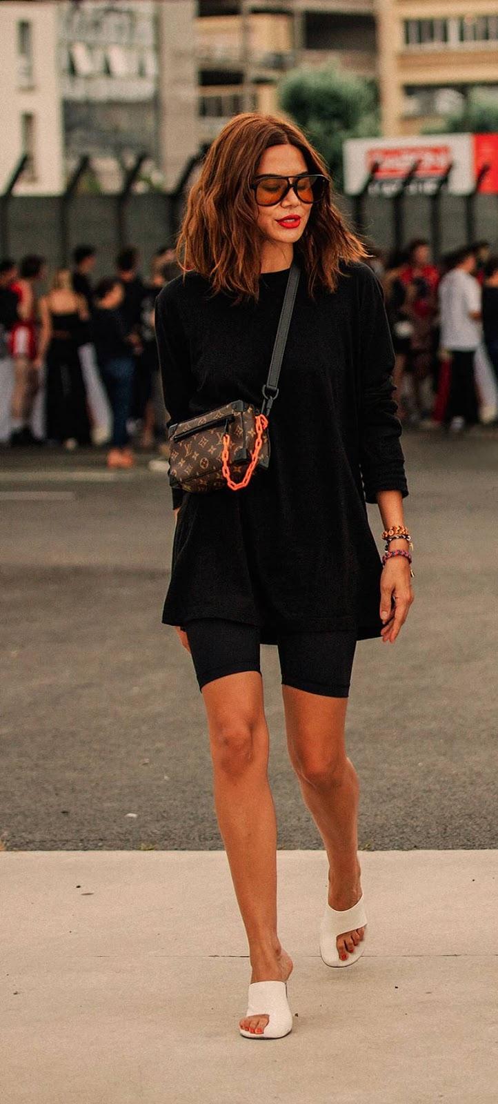 blogueira de moda e beleza sloppy street style outfit ideas