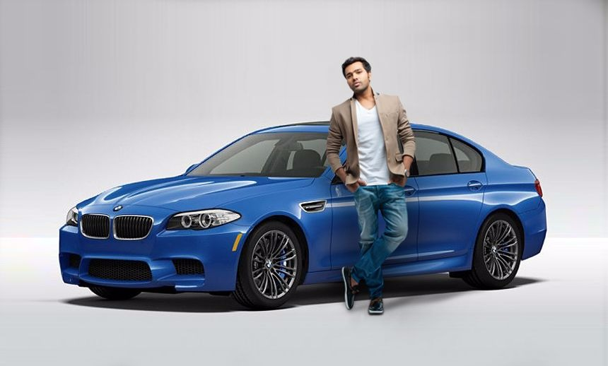 rohit sharma and his bmw m5
