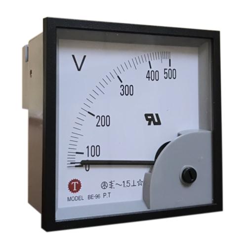 Đồng hồ đo điện áp (Volt kế) BE-96 500V AC Taiwan Meter