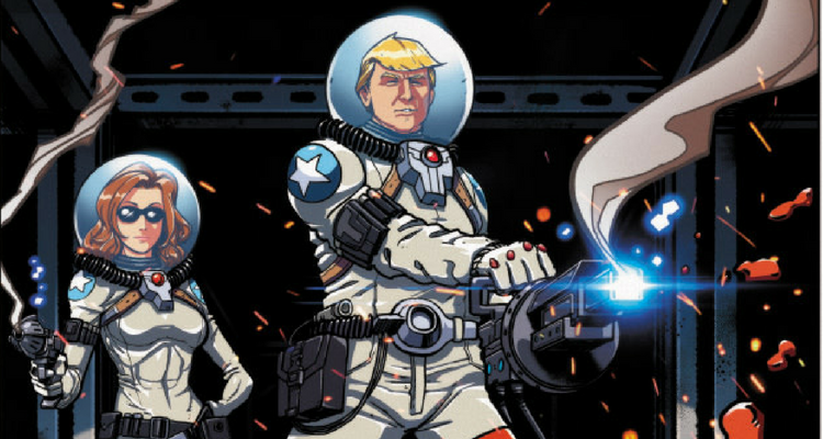 Chuck Dixon and Timothy Lim Launch Trump's Space Force ...