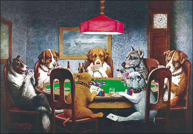 dogs poker 1