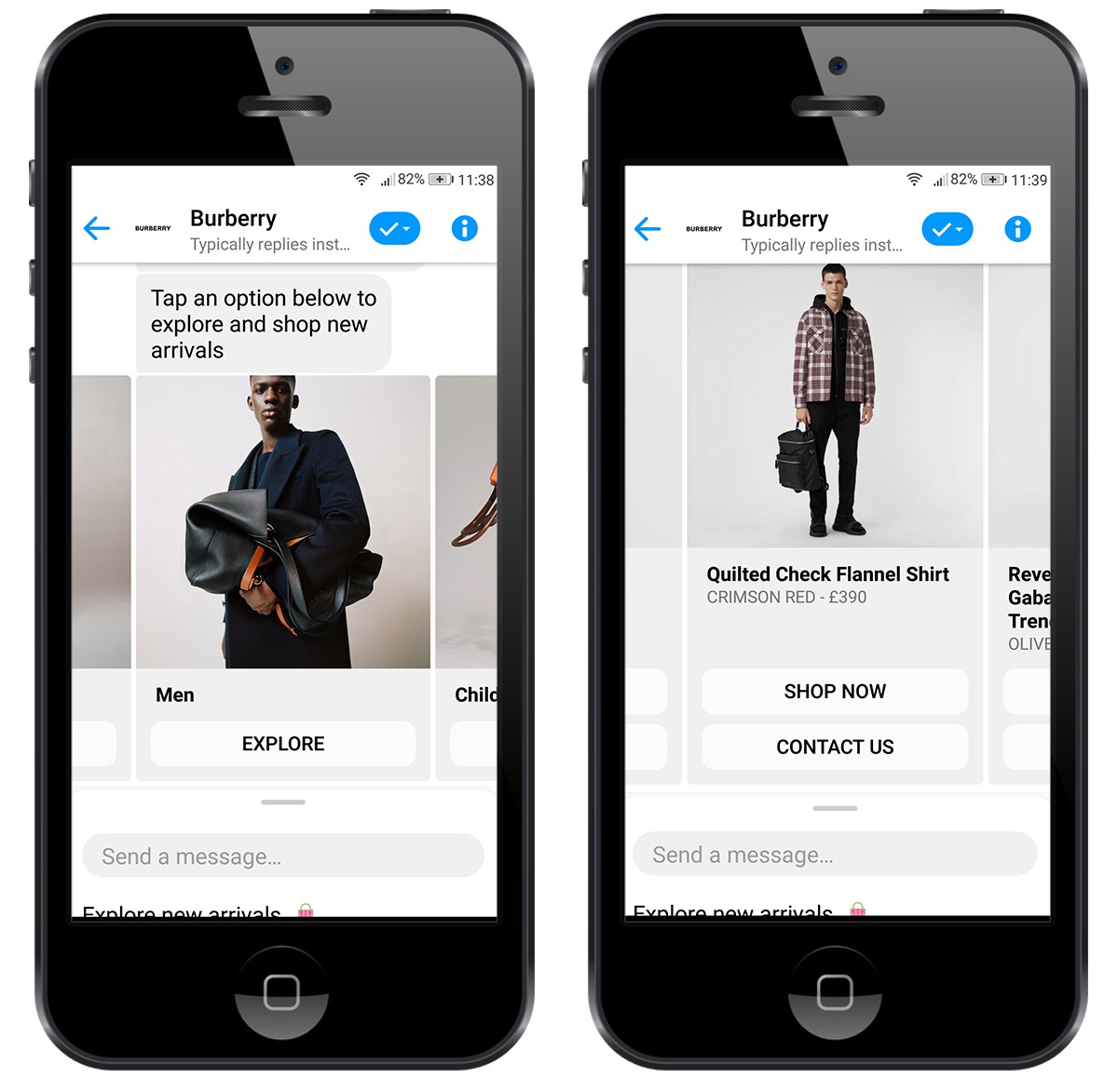 Burberry Clothing Chatbot