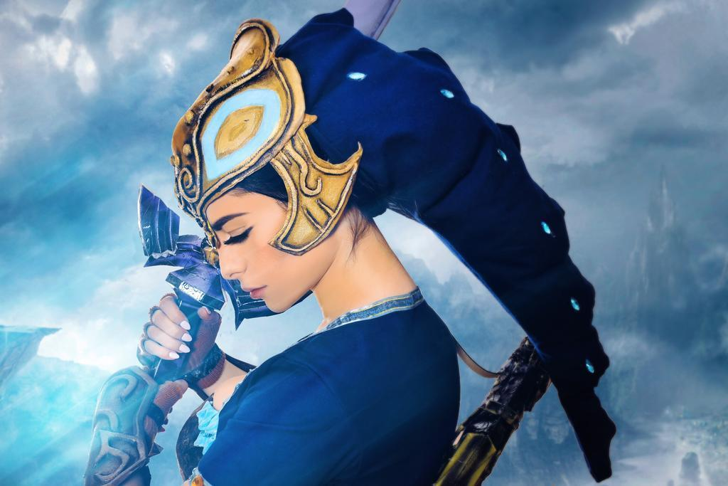 Zora Armor – Legend of Zora cosplay by Azzyland