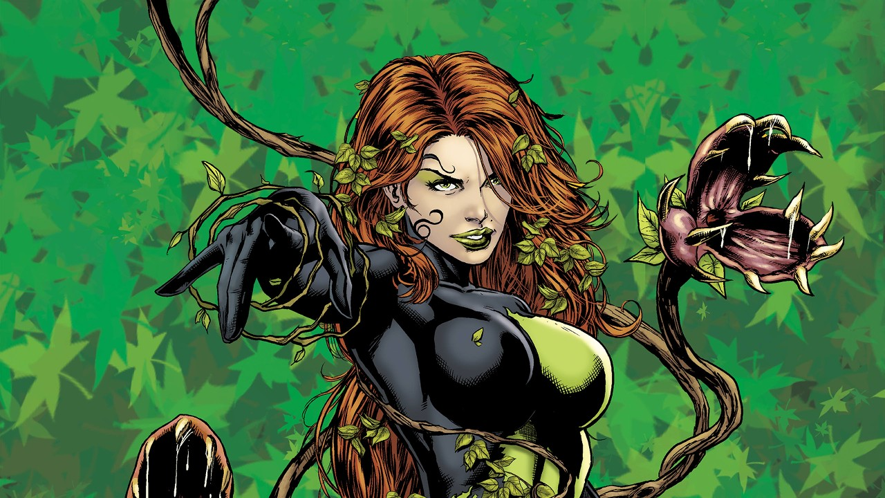 Poison Ivy - first girl in the list of DC female villains