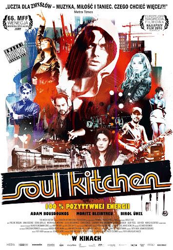 Polski plakat filmu 'Soul Kitchen'