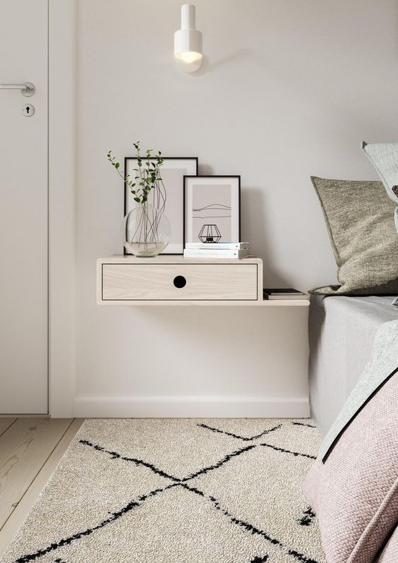 Small Floating Nightstand