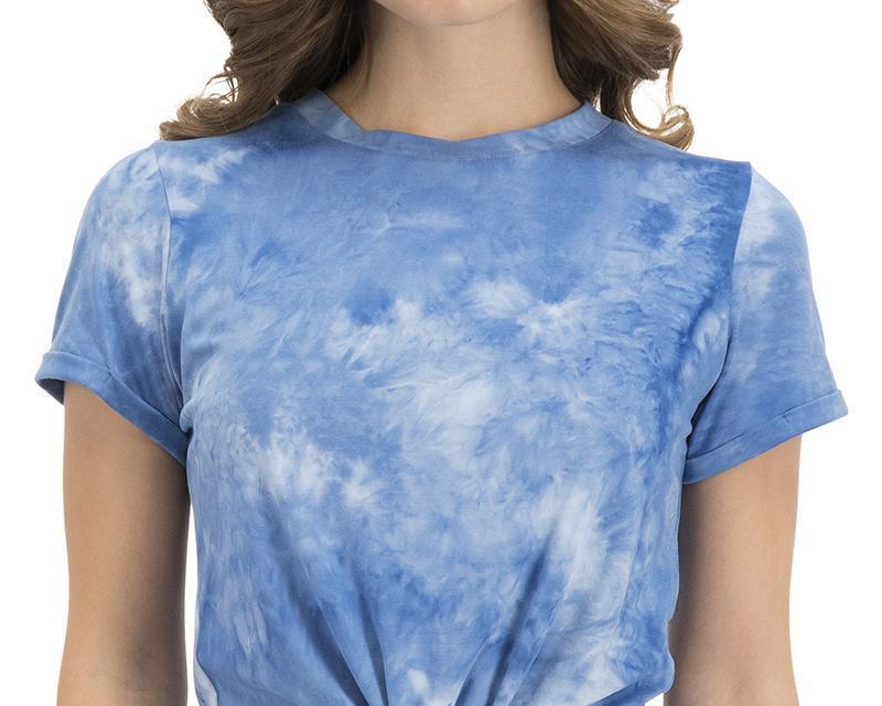 Blusa azul Tie-Dye marca Refill para verano