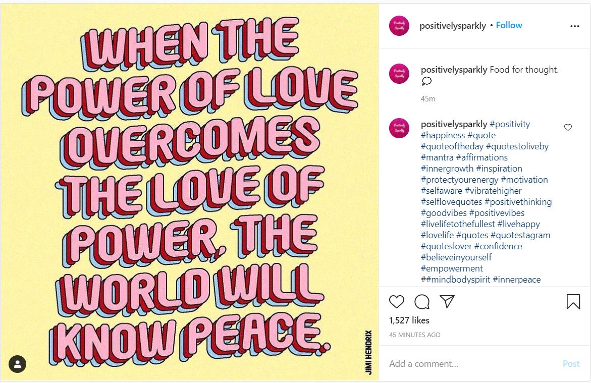 instagram content calendar  quotes
